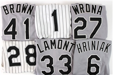 1993-2005 Chicago White Sox Game Worn Jerseys - Lot of 11 w/ Wilson Alvarez, George Bell, Joey Cora, Lance Johnson & More (MEARS LOA/JSA)
