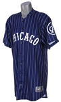 2008 (July 26) Octavio Dotel Chicago White Sox Signed 1920 Negro League Throwback Road Jersey (MEARS LOA/JSA)