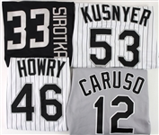1993-2003 Chicago White Sox Game Worn Jersey Collection - Lot of 11 w/ 4 Signed Including Mike Sirotka, Bob Howry, Art Kusnyer & More (MEARS LOA/JSA)