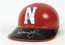 2010s Andruw Jones Netherland Signed Game Worn Catchers Helmet (MEARS LOA/JSA)
