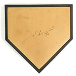 1990s Frank Thomas Chicago White Sox Signed Home Plate (JSA)