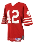 1985-88 Ronnie Lott San Francisco 49ers Signed Home Jersey (MEARS A10/JSA)