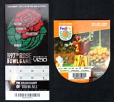 2004-2011 Orange Bowl & Rose Bowl Tickets - Lot of 2