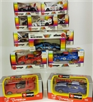 Burago Toy Cars (Lot of 12)