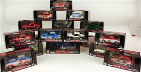 Eidai Grip Road Rally Toy Cars (Lot of 16)