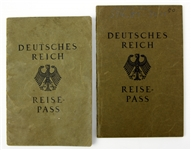 1927 German Passports