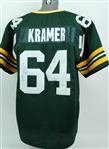 2000s Jerry Kramer Green Bay Packers Signed Jersey (JSA)