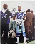 1990-2002 Emmitt Smith Dallas Cowboys Signed 11x14 Photo (JSA)