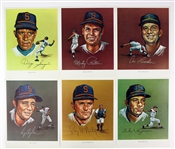 1968-69 Seattle Pilots Team Photo & John Wheeldon Player Portraits (Lot of 10)