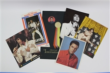 1960s-70s Elvis Presley Las Vegas Souvenir Menus, Photo, and more (Lot of 6)