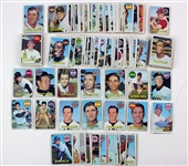 1969 Topps Baseball Cards (Lot of 211)