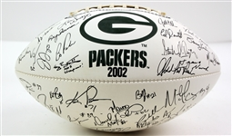 2002 Green Bay Packers Collector Series Facsimile Signed Football