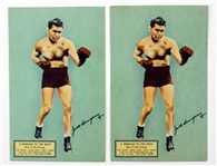 Jack Dempsey Great Northern Hotel Postcards