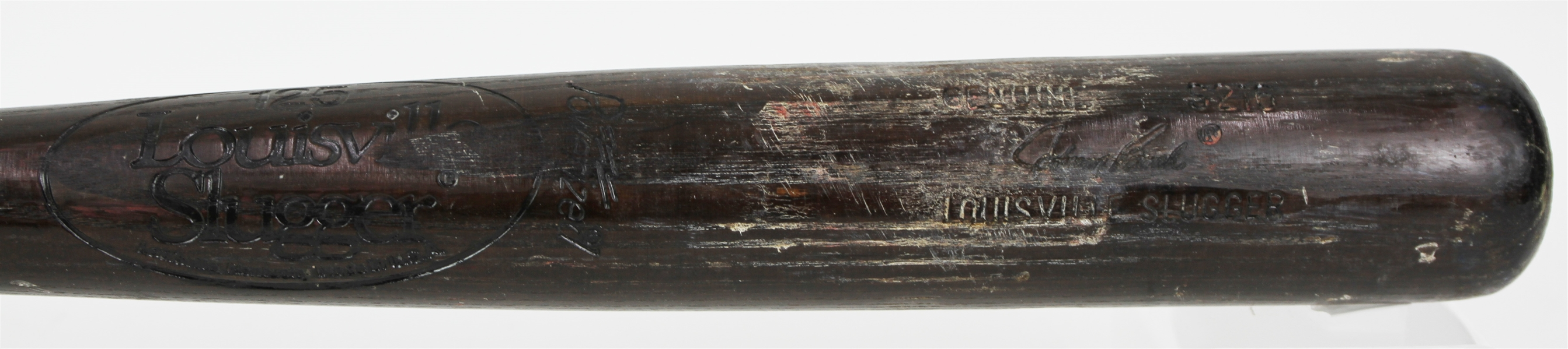 1983 Johnny Bench Cincinnati Reds Louisville Slugger Professional Model Game Used Bat (MEARS A10) Final Season