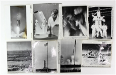 1969 NASA Apollo 11 Mission Laser Photo Collection - Lot of 11
