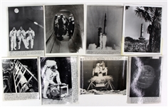 1969 NASA Apollo 11 Mission Laser Photo Collection - Lot of 15