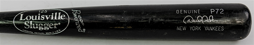 2002-08 Derek Jeter New York Yankees Louisville Slugger Professional Model Game Used Bat (MEARS A8)