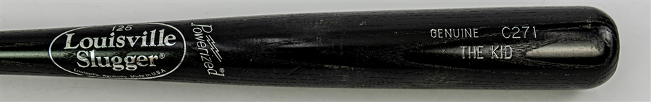 "1990 Ken Griffey Jr. ""The Kid"" Seattle Mariners Louisville Slugger Professional Model Bat (MEARS A7)"