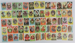 1958 Topps Football Trading Cards - Lot of 65 w/ Babe Parilli, Lou Groza, Gino Marchetti & More