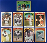 1972 Topps Baseball Trading Cards - Complete Set of 787