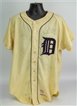 1968 Willie Horton Detroit Tigers Signed Game Worn Home Jersey (MEARS A10/PSA) World Series Season