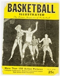 1945-1946 Basketball Illustrated Picture Magazine of Basketball