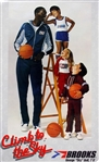 "1980s George ""Sky"" Bell Climb To The Sky 18"" x 30.5"" Brooks Poster"