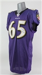 2011 Andre Gurode Baltimore Ravens Game Worn Home Jersey (MEARS LOA)
