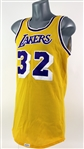 1979-85 Magic Johnson Los Angeles Lakers Home Jersey (MEARS A5)
