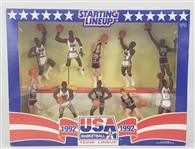 1992 USA Basketball Starting Line Up Figures Including Michael Jordan, Scottie Pippen, and more