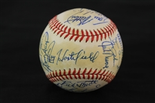 1978 Toronto Blue Jays Team Signed OAL MacPhail Baseball w/ Roy Howell, Rico Carty, Garth Iorg 30 Signatures Including & More (JSA)