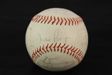 1979 St. Louis Cardinals Team Signed Baseball w/ 25 Signatures Including Lou Brock, Keith Hernandez, Ted Simmons & More (JSA)
