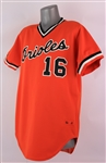 1982 Scott McGregor Baltimore Orioles Game Worn Alternate Jersey (MEARS A10)