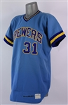 1973 Harvey Kuenn Milwaukee Brewers Game Worn Road Jersey (MEARS A10)