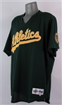 1997 Mark McGwire Oakland Athletics Batting Practice Jersey (MEARS LOA)