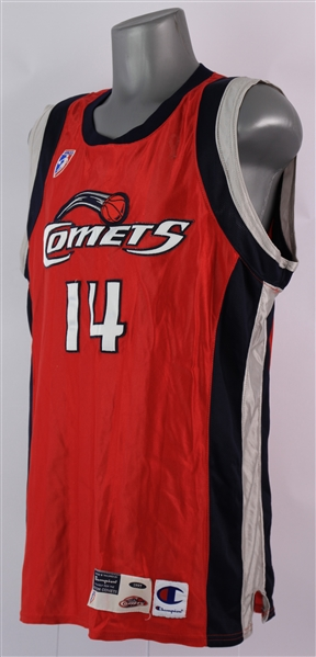 1997 Cynthia Cooper Houston Comets Game Worn Road Jersey (MEARS A9) Inaugural WNBA Season