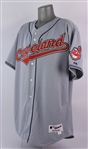 2005 Eddie Murray Cleveland Indians Game Worn Road Jersey (MEARS A10/Indians Charities)