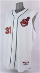 2005 Eddie Murray Cleveland Indians Game Worn Home Jersey Vest (MEARS A10/Indians Charities)