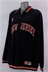 2001-08 Richard Jefferson New Jersey Nets Warm Up Jacket (MEARS LOA)