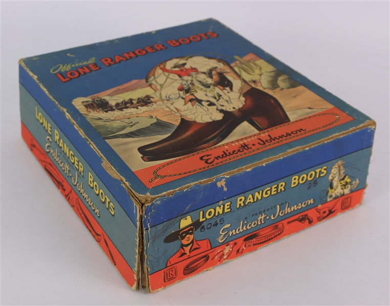 1948 Official Lone Ranger Boots Product Box