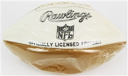 1960s Rawlings NFL Officially Licensed Autograph Panel Football Wrapped in Like New Condition