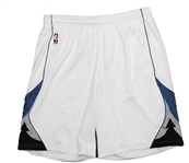 2013-14 Nikola Pekovic Minnesota Timberwolves Game Worn Home Uniform Shorts (MEARS LOA)