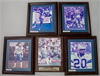 1990s Dallas Cowboys Signed Framed Photos Collection - Lot of 5 w/ Emmitt Smith, Mel Renfro, Cliff Harris & More (JSA)