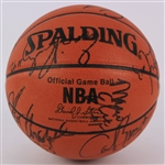 1993-94 Houston Rockets NBA Champions Team Signed ONBA Stern Basketball w/ 12 Signatures Including Hakeem Olajuwon, Kenny Smith, Robert Horry & More (JSA)