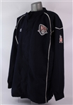 2001-02 Jason Kidd New Jersey Nets Warm Up Jacket (MEARS LOA)