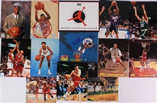 "1990s-2000s Baseball Football Basketball Signed 8"" x 10"" Photos - Lot of 45 w/ Willie Mays, Reggie Jackson, OJ Simpson, Walt Frazier & More"