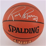2000s Rick Barry Golden State Warriors Signed Basketball (JSA)