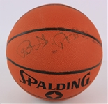 2000s Patrick Ewing New York Knicks Signed Basketball (JSA)