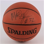 1996 Magic Johnson Los Angeles Lakers Signed Basketball (JSA)