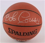 1999 Bob Cousy Boston Celtics Signed Basketball (JSA)